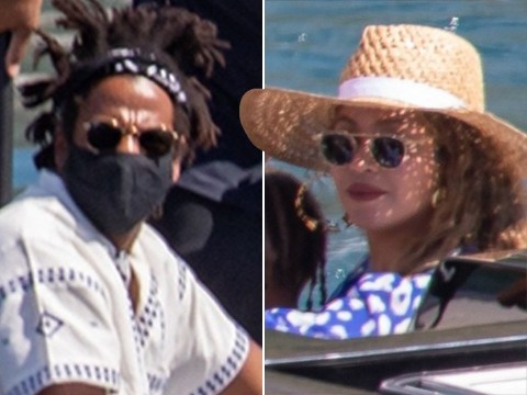 Beyonce and Jay Z live the life on board £1.5million a week yacht in Croatia with twins Rumi and Sir