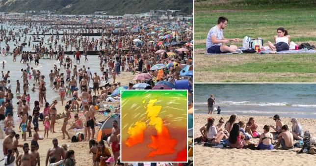 September heatwave Rex/LNP/BBC