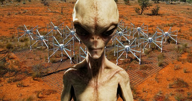 The Murchison Widefield Array (MWA) telescope in Australia has been looking for signs of aliens (Wikipedia)