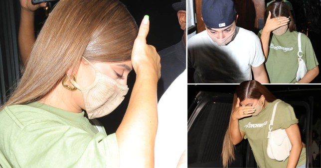 AU_1993189 - West Hollywood, CA - Kylie Jenner keeps a low profile as she is spotted leaving 40 Love with friends Zack Bia & Luka Sabbat after celebrating birthday of Tik Tok influencer Bryant. Pictured: Kylie Jenner BACKGRID Australia 9 SEPTEMBER 2020 BYLINE MUST READ: NYP / BACKGRID Phone: + 61 419 847 429 Email: sarah@backgrid.com.au
