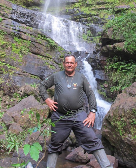 Rieli Franciscato - Expert on Amazon tribes is shot dead with an arrow by indigenous people while approaching them in remote area of Brazil taken without permission, please legal https://www.facebook.com/rieli.franciscato.5