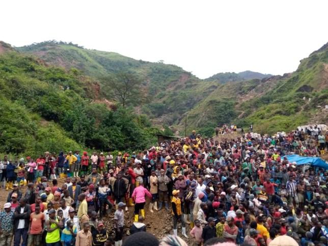Au moins 50 morts après l'effondrement d'une mine d'or en RD Congo * pris sans autorisation *