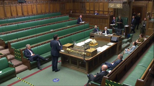 MPs vote on Boris Brexit bill, House of Commons 14.09.20 (Picture: UK Parliament)