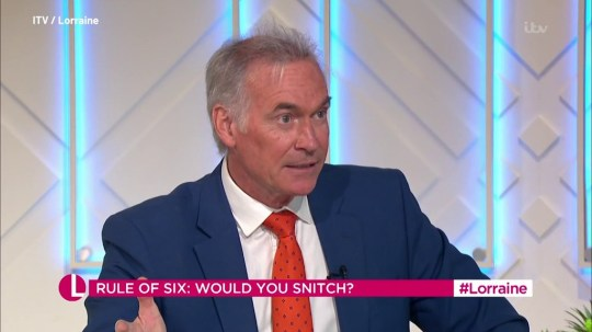Dr Hilary Jones says exceptions to Boris Johnson's rule of six 'send completely wrong message'