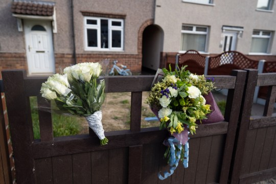 The house where a 12-day-old baby was mauled to death by a dog, Welfare Road, Doncaster.