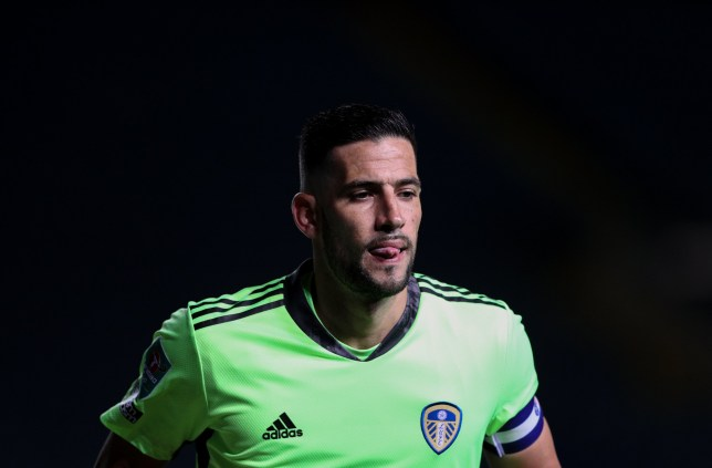 Kiko Casilla captained Leeds for last night's Carabao Cup tie against Hull City
