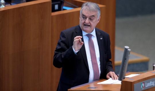 Interior Minister of North Rhine-Westphalia Herbert Reul