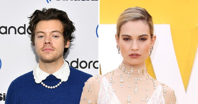 Harry Styles and Lily James 'in negotiations' for LGBT romance film