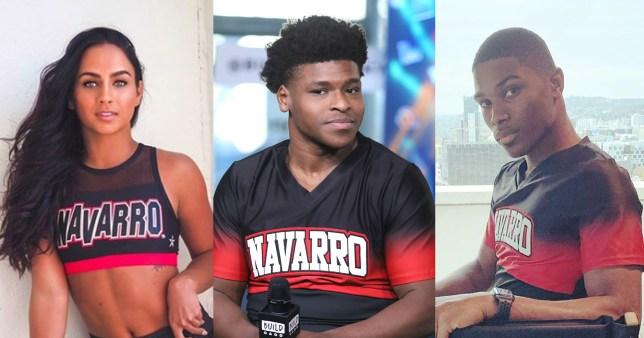 Cheer's Gabi Butler, Jerry Harris, and La'Darius Marshall
