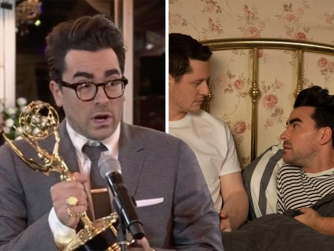 Dan Levy hints at Schitt's Creek movie as show sweeps board with seven Emmy wins after final season