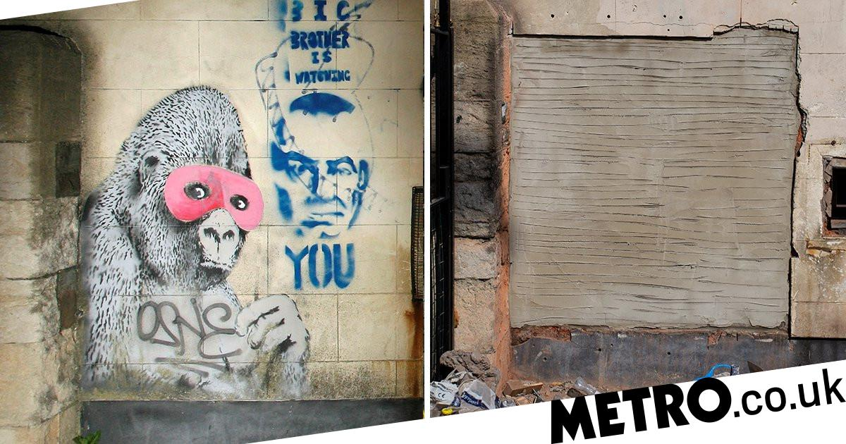 mysteriously work  almost Banksy from after disappears home