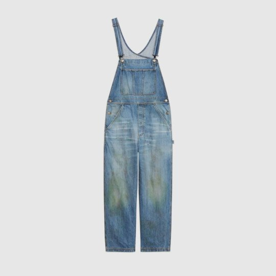 Gucci sells grass-stained dungarees for $1000 Dungarees
