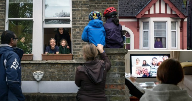 Families may have to stay in touch using Zoom video calls this Christmas