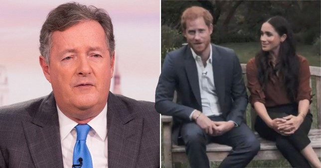 Piers Morgan targets Prince Harry for 'putting his woke nose' into US presidential election
