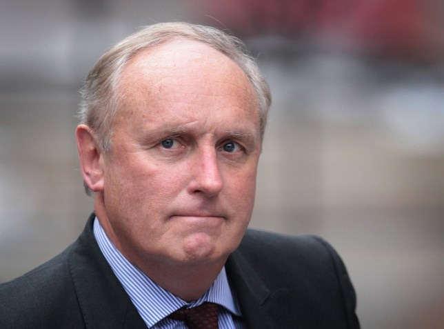LONDON, ENGLAND - FEBRUARY 06: Paul Dacre, editor of The Daily Mail, arrives to give evidence to the Leveson Inquiry at The High Court on February 6, 2012 in London, England. The inquiry is being led by Lord Justice Leveson and is looking into the culture, practice and ethics of the press in the United Kingdom. The inquiry, which will take evidence from interested parties and may take a year or more to complete, comes in the wake of the phone hacking scandal that saw the closure of The News of The World newspaper. (Photo by Peter Macdiarmid/Getty Images)