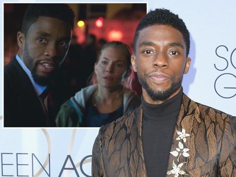 Chadwick Boseman boosted Sienna Miller's 21 Bridges salary from his own pocket to bridge pay gap