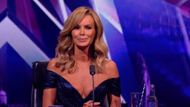 Amanda Holden, Britain's Got Talent 26.09 (Picture: ITV)