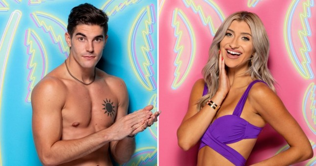 Love Island's Bennett and Lakeyn voted