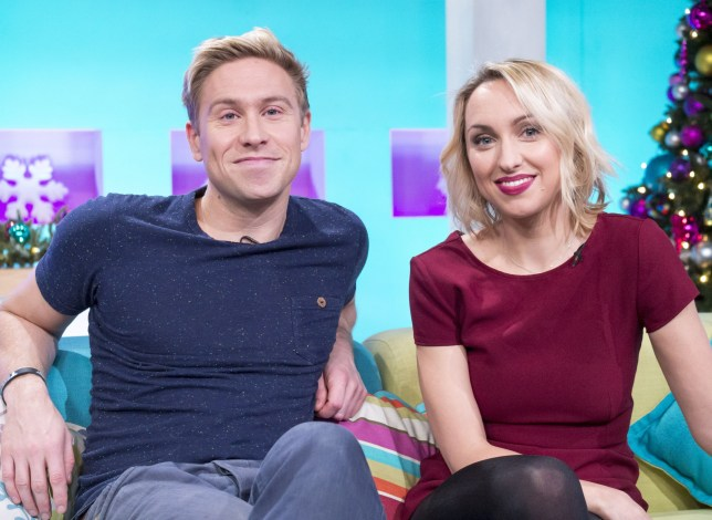 Kerry Howard and Russell Howard