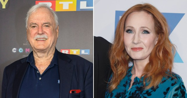 John Cleese and JK Rowling