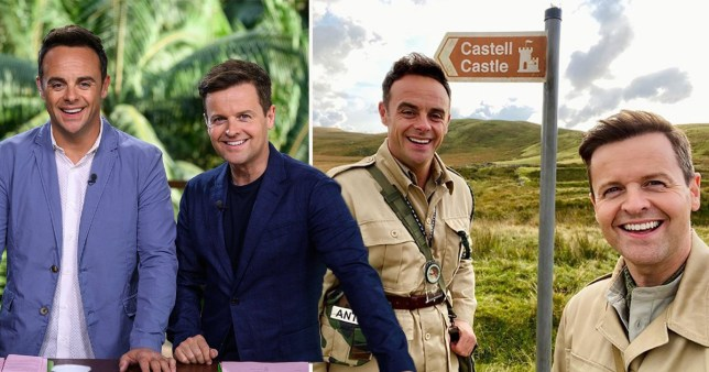 Ant and Dec hit the road to Im a Celeb in Wales