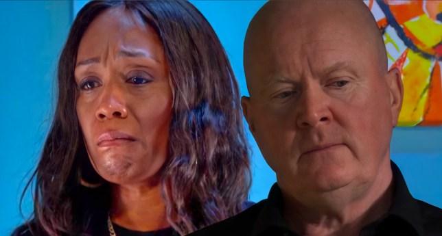 Phil and Denise in EastEnders