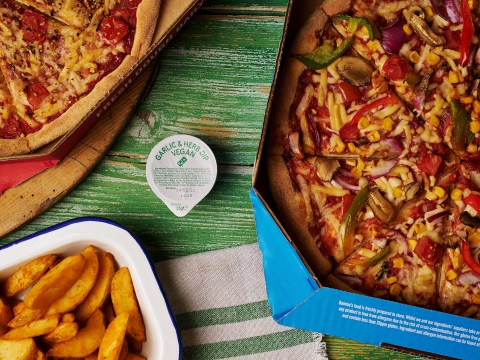 Domino's rolls out vegan pizza and garlic & herb dip nationwide