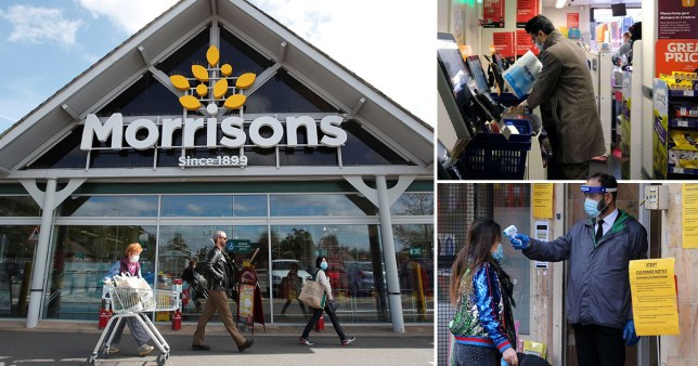 Police to patrol supermarkets and shops to 'shame' shoppers into wearing masks