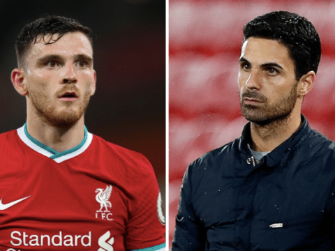'He's turned the club around' – Andy Robertson praises Mikel Arteta and Arsenal signings after Liverpool win