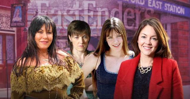 EastEnders' Slater sisters