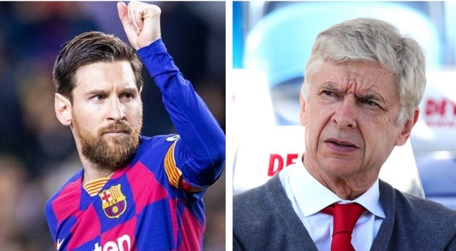 Arsene Wenger wanted to sign Barcelona superstar Lionel Messi for Arsenal