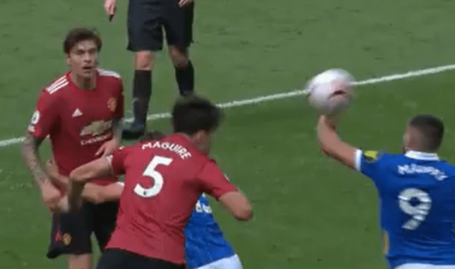 Neal Maupay's handball offence allowed Man Utd the chance to steal victory against Brighton