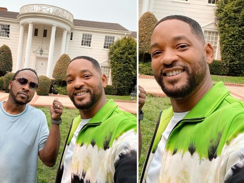 Will Smith reunites with Jazzy Jeff as Fresh Prince of Bel Air mansion launches on Airbnb