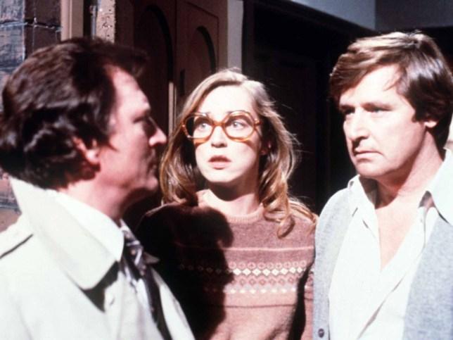 Ken, Deirdre and Mike in Coronation Street