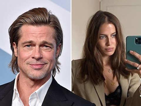 Brad Pitt's rumoured girlfriend has the perfect response after fan asks why she 'hates' Angelina Jolie
