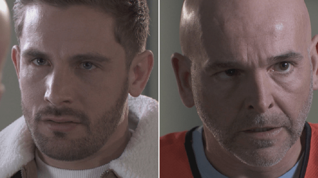 Brody and Buster in Hollyoaks