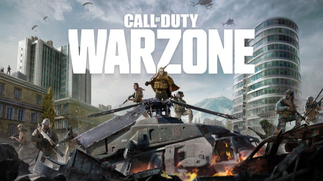 Call Of Duty Warzone key art