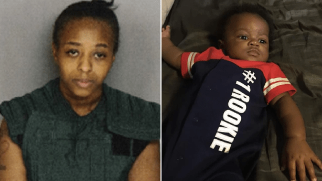 Vernita Jones and her murdered son Anthony