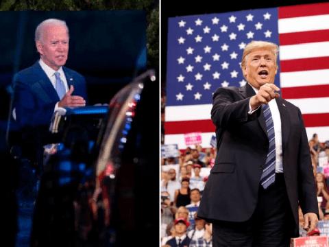 Joe Biden blasts Donald Trump's 'criminal' response to Covid at campaign event