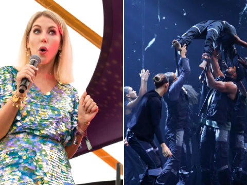 Katherine Ryan throws shade at those complaining over Diversity's Black Lives Matter routine
