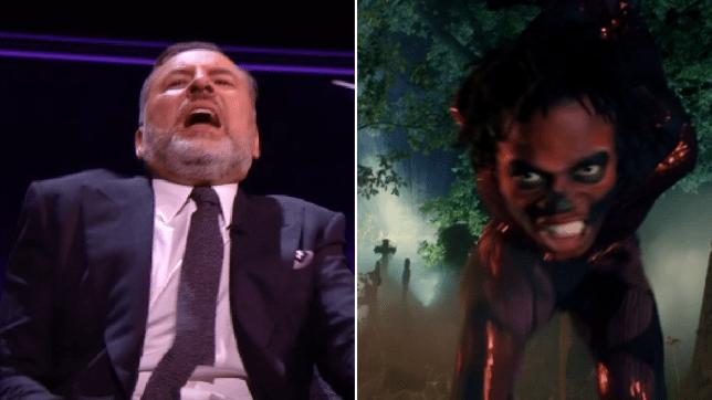 David Walliams terrified after contortionist Papi Flex