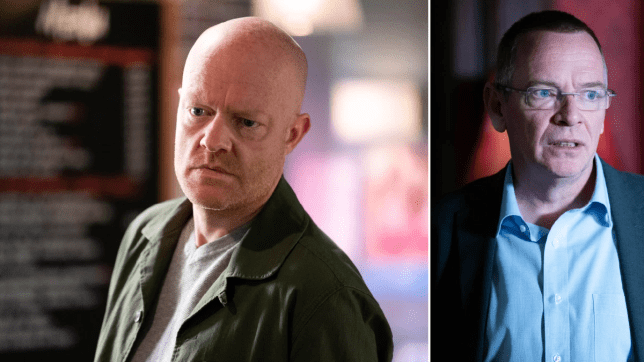 EastEnders - Max Branning and Ian Beale