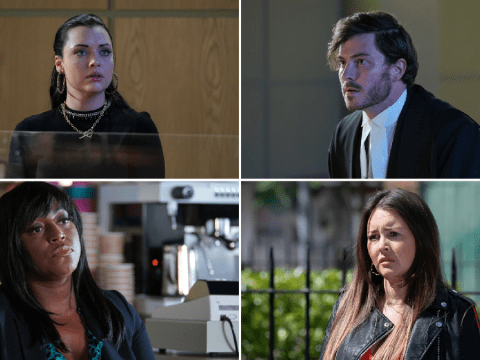 EastEnders spoilers: Gray loses it, Whitney's judgement day and a shock for Stacey