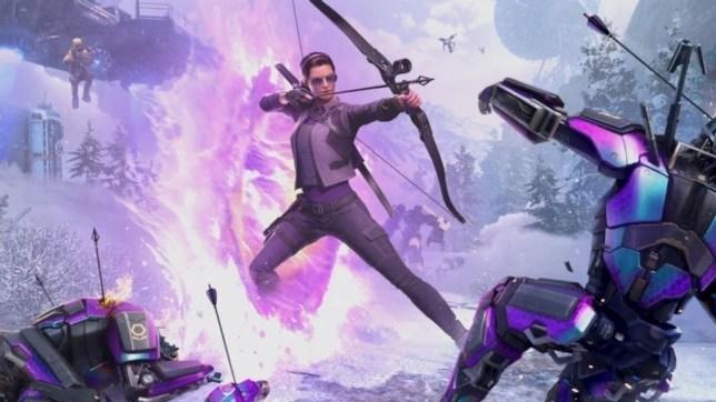 Marvel's Avengers adds Kate Bishop Hawkeye