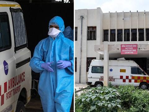 Coronavirus patient 'raped by paramedic on way to hospital'