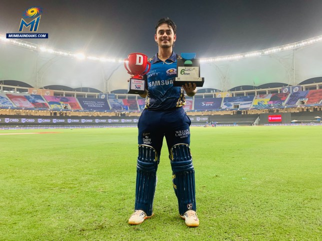 Ishan Kishan scored 99 during Mumbai Indians' defeat to Royal Challengers Bangalore