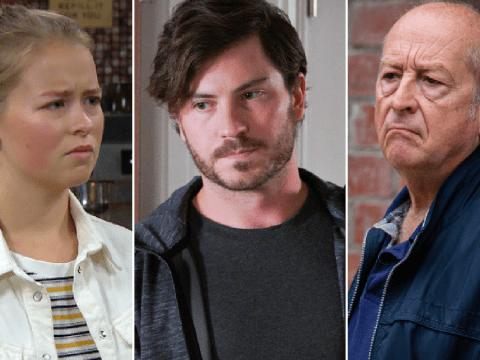 10 soap spoilers this week: Coronation Street Geoff arrest, EastEnders Gray's revenge, Emmerdale bad news, Hollyoaks discovery