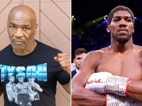 Mike Tyson says he is willing to fight Anthony Joshua after Roy Jones Jr.
