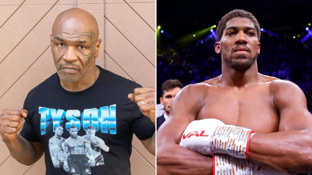 mike tyson says he will fight anthony joshua after roy jones jr metro news fight anthony joshua after roy jones jr
