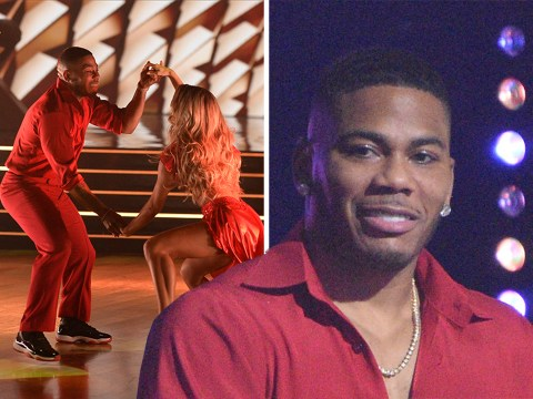 Nelly performing to his own song for Dancing With The Stars debut is a whole mood